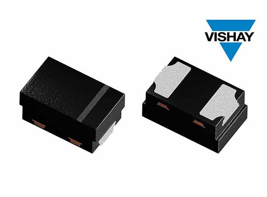 Vishay Small Signal Schottky and Switching Diodes Compact DFN1006-2A