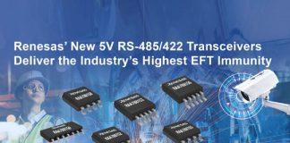 5V RS-485422 Transceiver Family