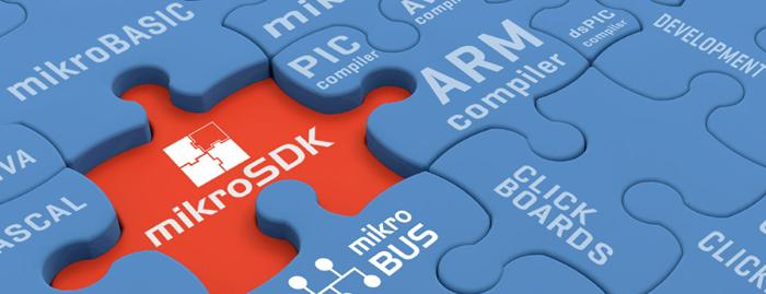 mikroSDK software development kit